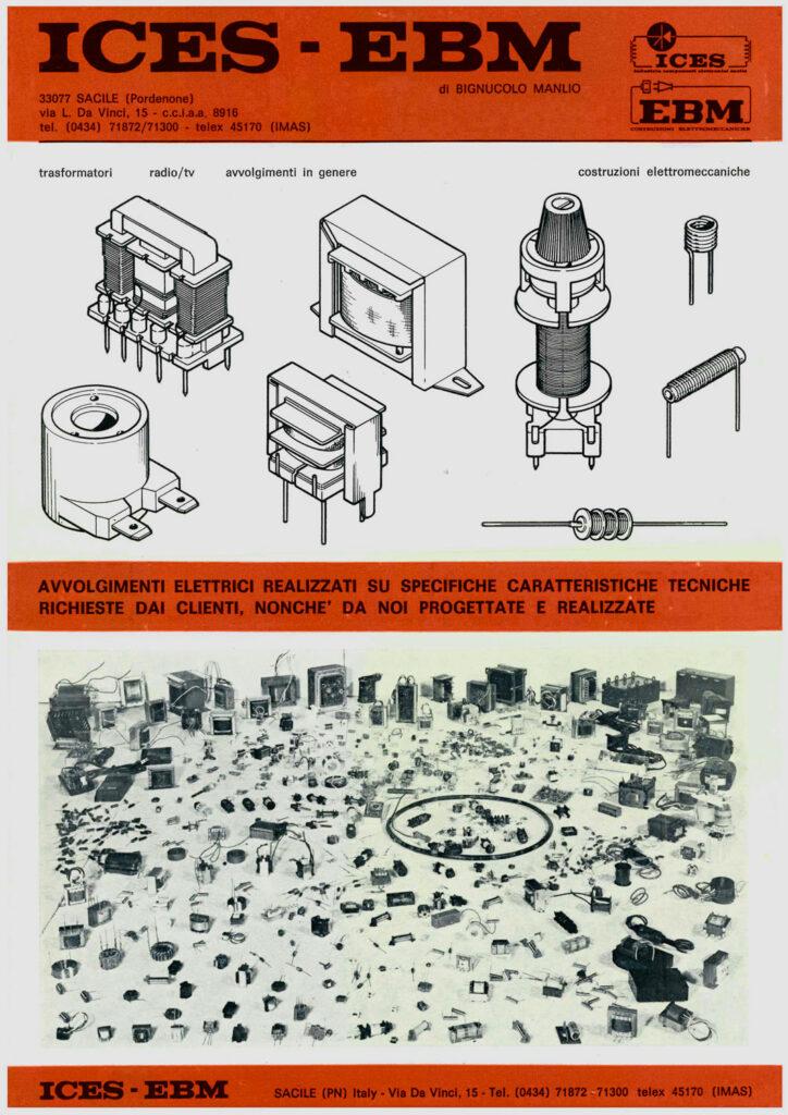 Avvolgimenti elettrici storica